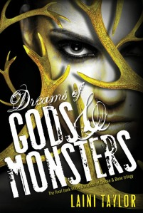 Laini Taylor - Dreams of Gods and Monsters US